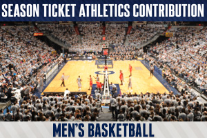 Gifts associated to your men's basketball season tickets