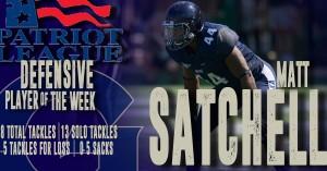 Matt Satchell Defensive Player of the Week