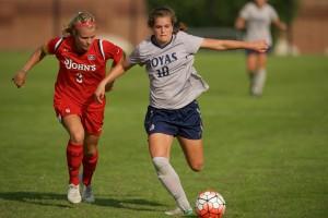 Rachel Corboz Women's Soccer Action